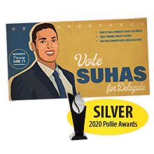 Suhas for VA - Poster